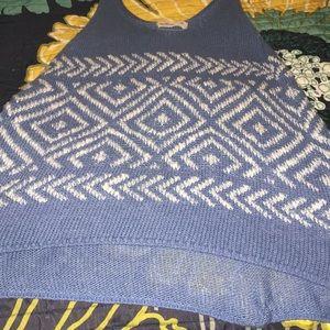 Cute holister crochet shirt.